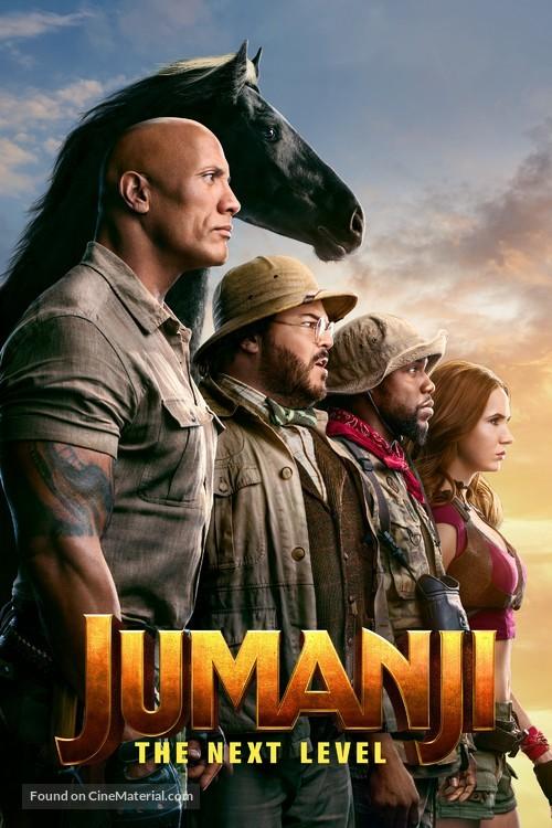Jumanji: The Next Level - Movie Cover