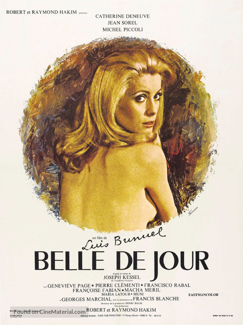 Belle de jour - French Theatrical movie poster