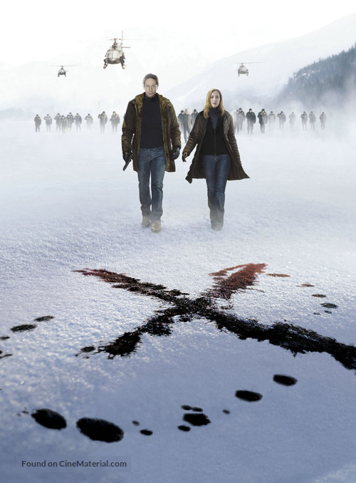 The X Files: I Want to Believe - Key art