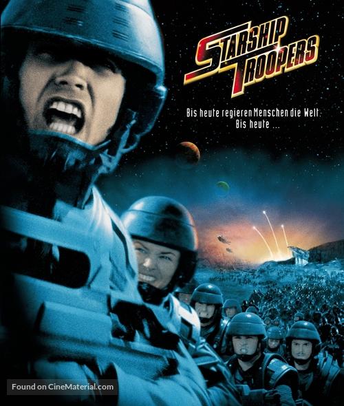 Starship Troopers - German Blu-Ray movie cover
