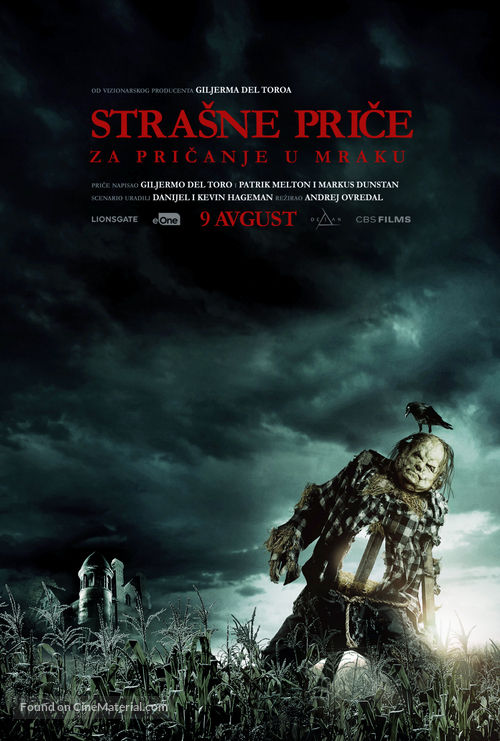 Scary Stories to Tell in the Dark - Serbian Movie Poster