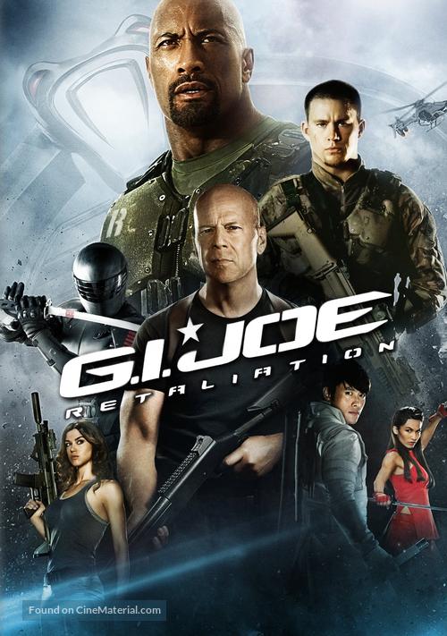 G.I. Joe: Retaliation - DVD movie cover