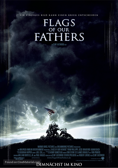Flags of Our Fathers - German Movie Poster