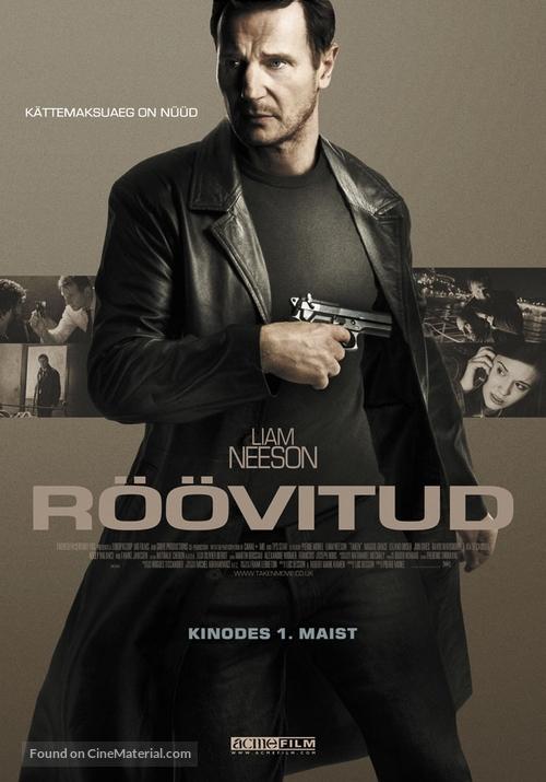 Taken - Estonian Movie Poster