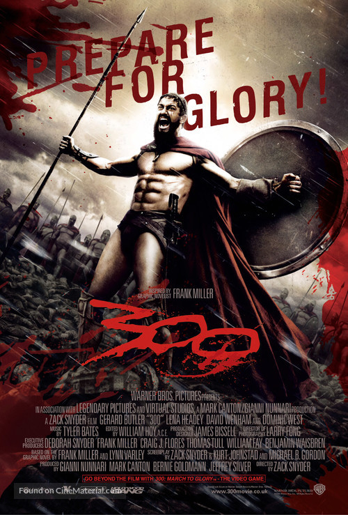 300 - British Movie Poster