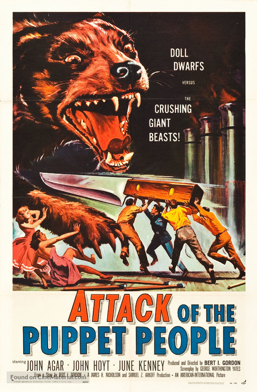 Attack of the Puppet People - Movie Poster