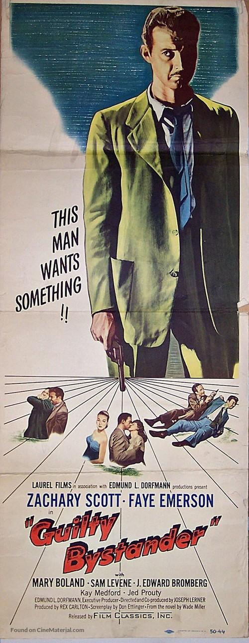 Guilty Bystander - Movie Poster