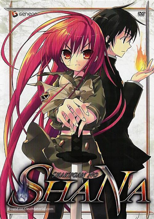 """""""Shakugan no Shana"""" - Japanese DVD movie cover"""