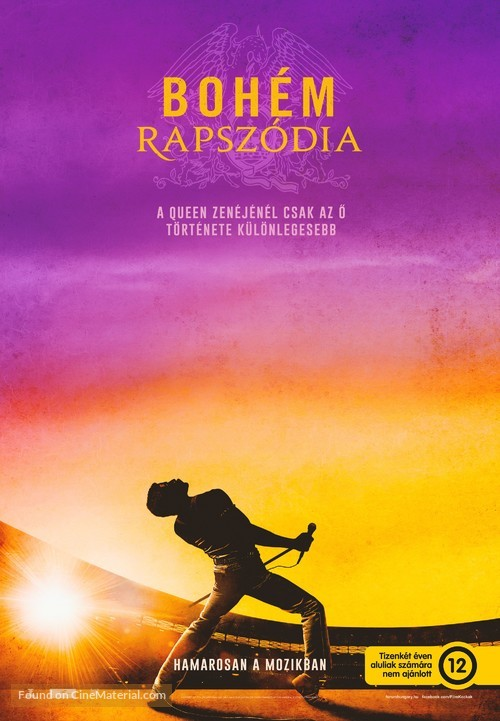 Bohemian Rhapsody - Hungarian Movie Poster
