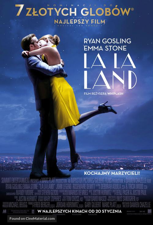 La La Land 2016 Polish Movie Poster