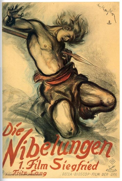 Die Nibelungen: Siegfried - German Movie Poster