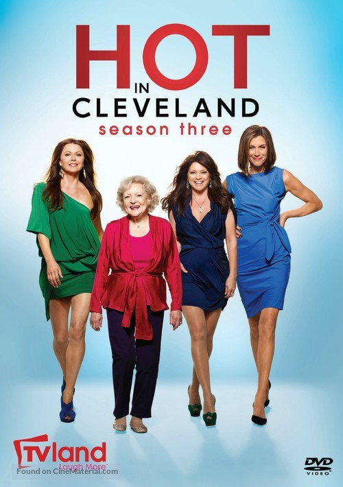 """""""Hot in Cleveland"""" - DVD movie cover"""