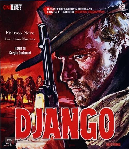 Django - Spanish Blu-Ray movie cover