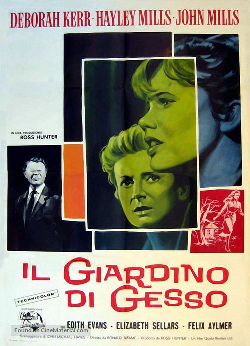 The Chalk Garden - Italian Movie Poster