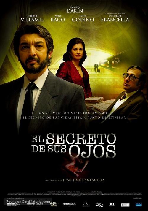 El secreto de sus ojos - Uruguayan Movie Poster