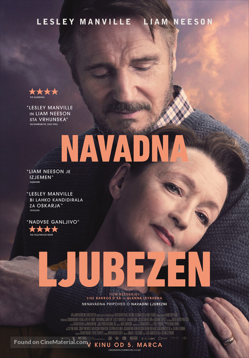 Ordinary Love - Slovenian Movie Poster
