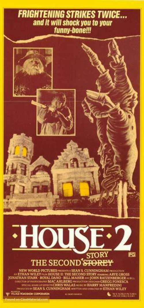 House II: The Second Story - Australian Movie Poster