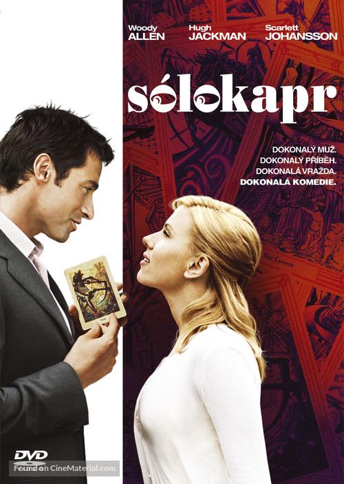 Scoop - Czech DVD movie cover