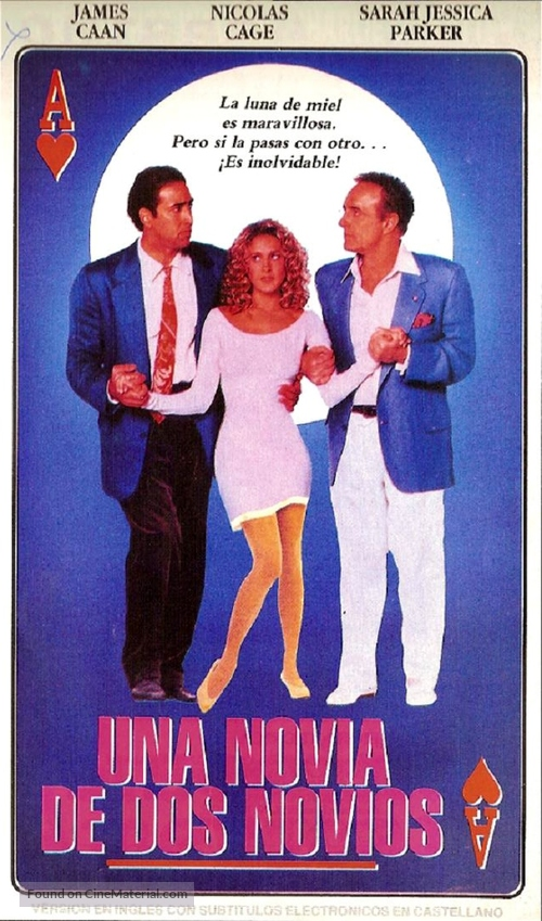 Honeymoon In Vegas - Argentinian poster