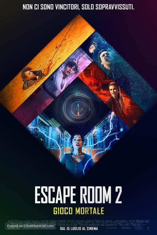 Escape Room: Tournament of Champions - Italian Movie Poster