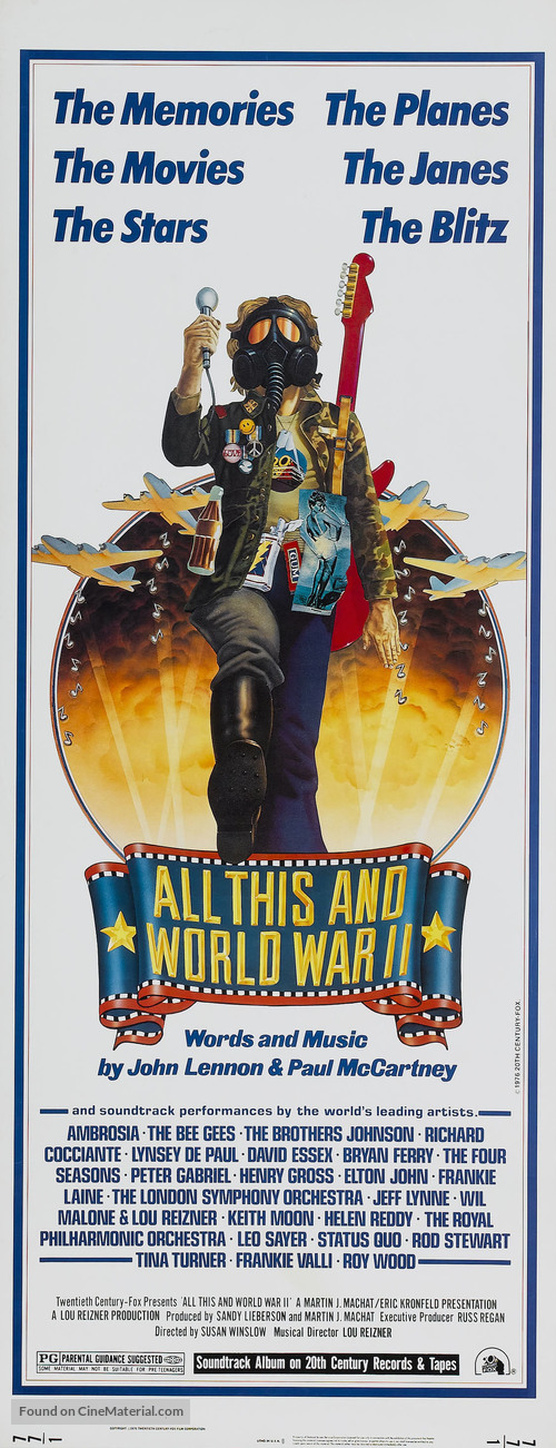 All This and World War II - Movie Poster