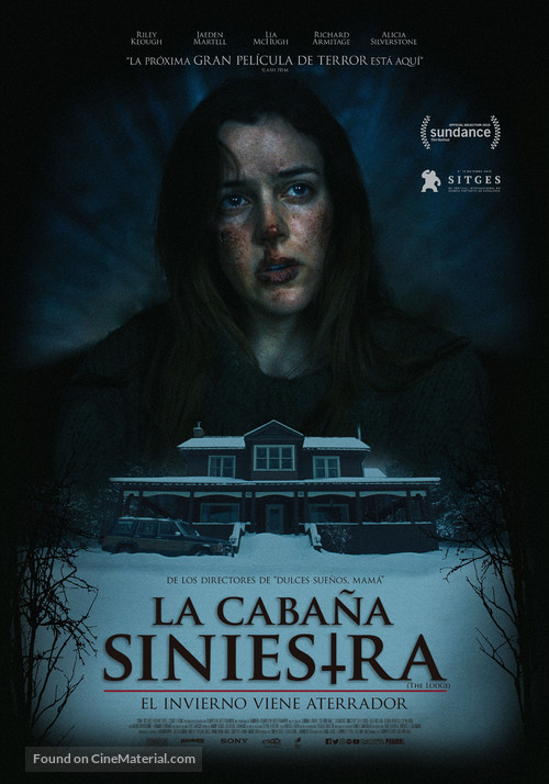 The Lodge - Mexican Movie Poster