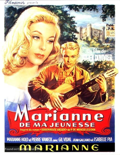 Marianne - Belgian Movie Poster