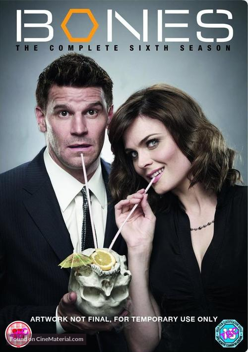 """Bones"" - British DVD movie cover"