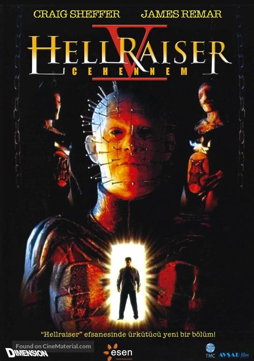 Hellraiser: Inferno - German Movie Poster