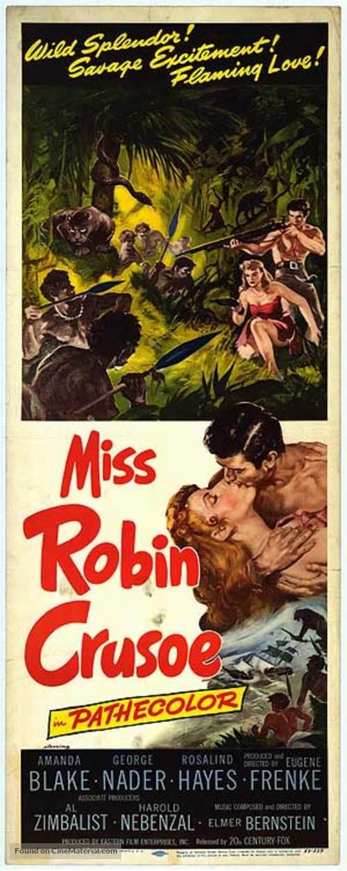 Miss Robin Crusoe - Movie Poster