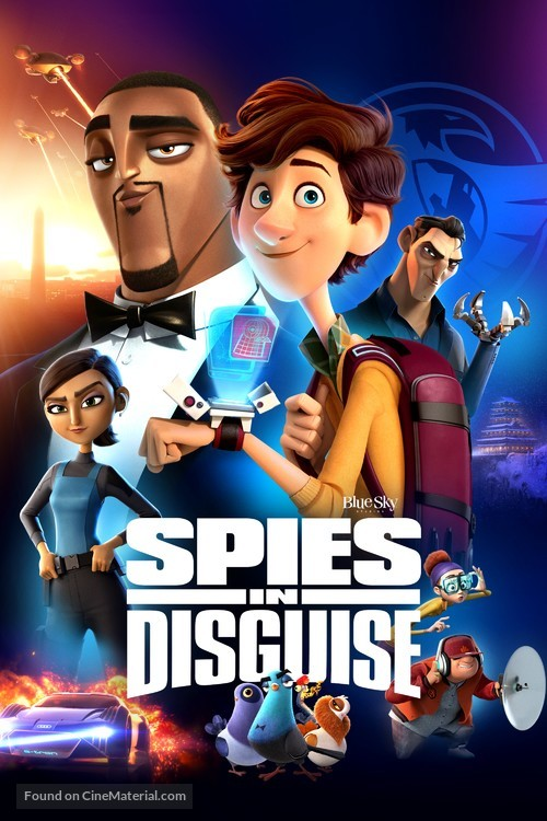Spies in Disguise - Video on demand movie cover