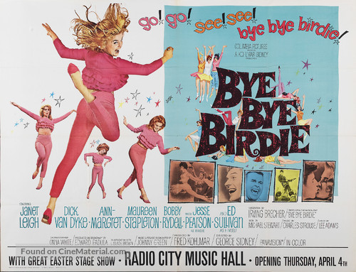 Bye Bye Birdie - Movie Poster