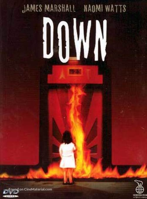 Down - Swedish DVD movie cover