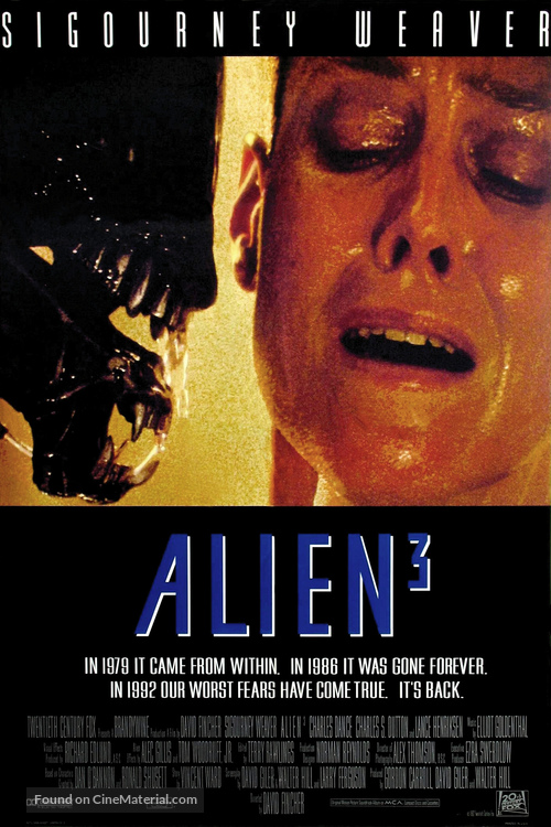 Alien 3 - Movie Poster