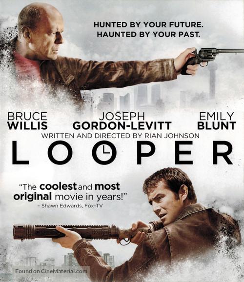 Looper - Blu-Ray movie cover
