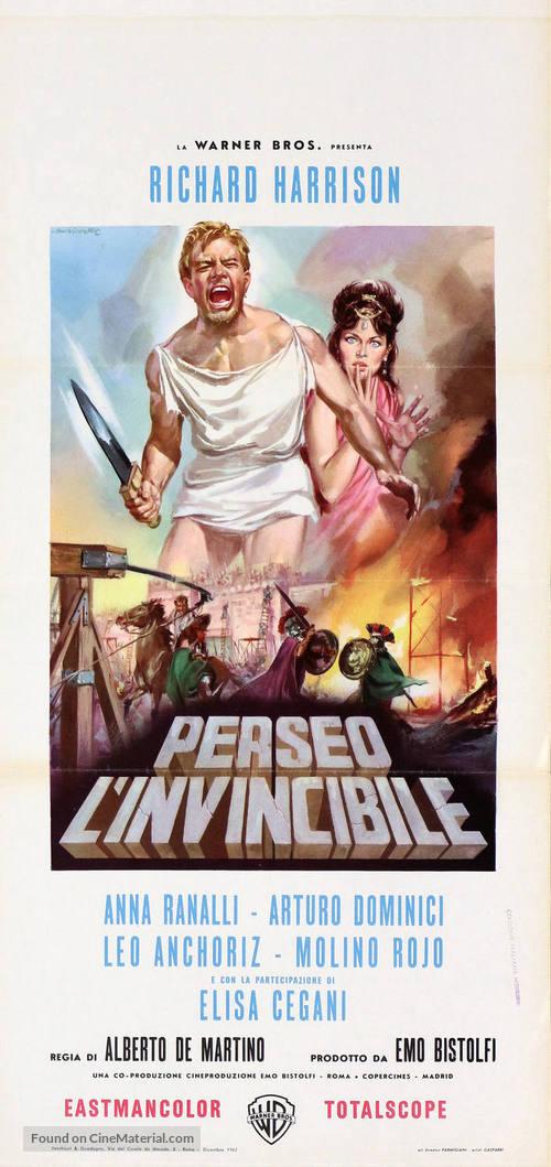 Perseo l'invincibile - Italian Movie Poster