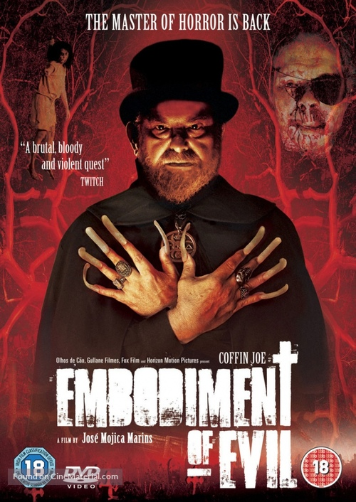 Encarnação do Demônio - British Movie Cover