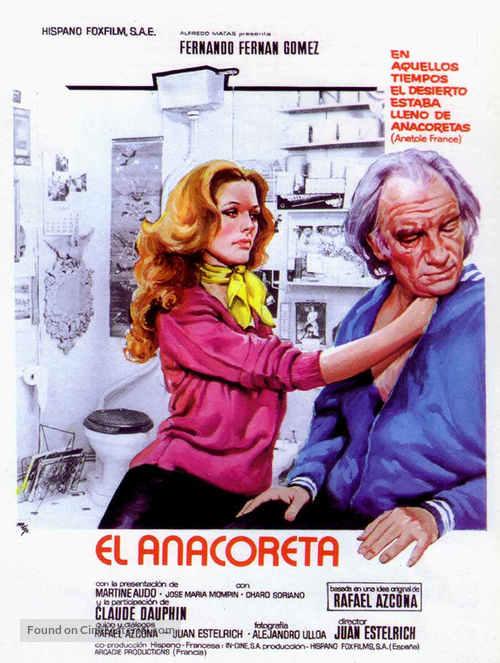 Anacoreta, El - Spanish Movie Poster