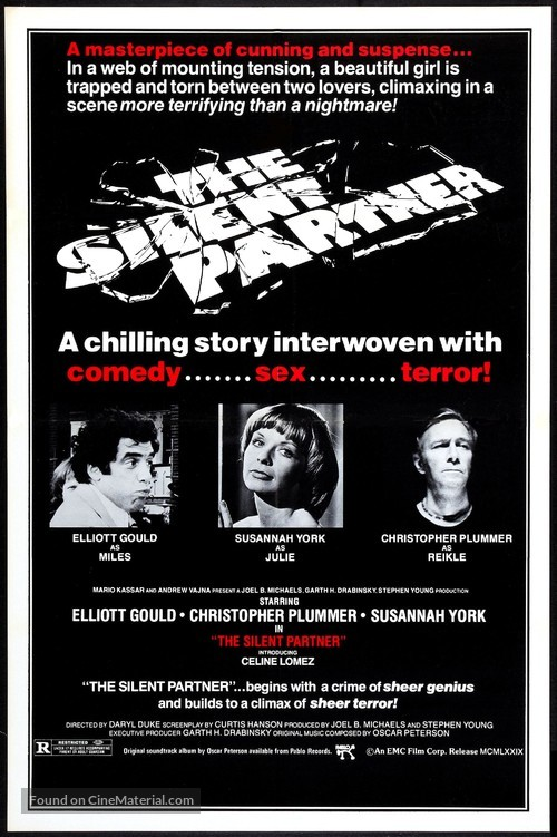 The Silent Partner - Movie Poster