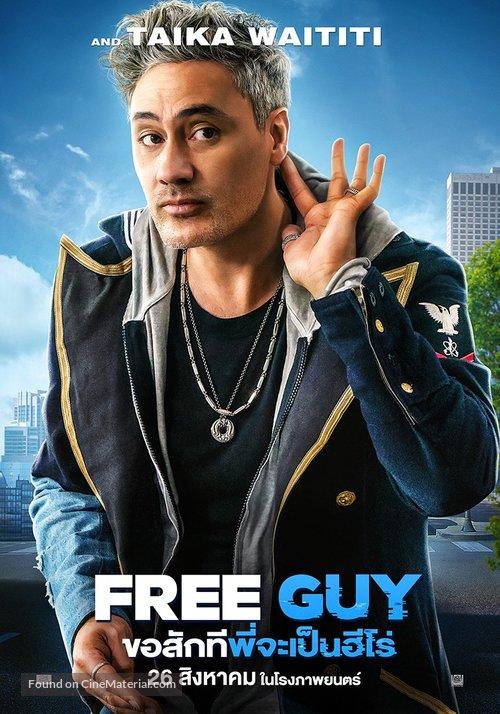 Free Guy - Thai Movie Poster