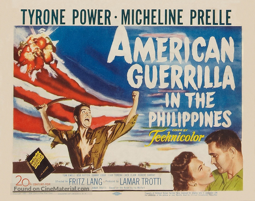 American Guerrilla in the Philippines - Movie Poster