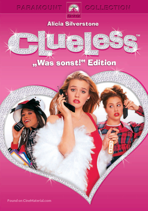 Clueless - German DVD movie cover