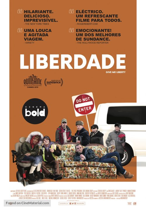 Give Me Liberty - Portuguese Movie Poster