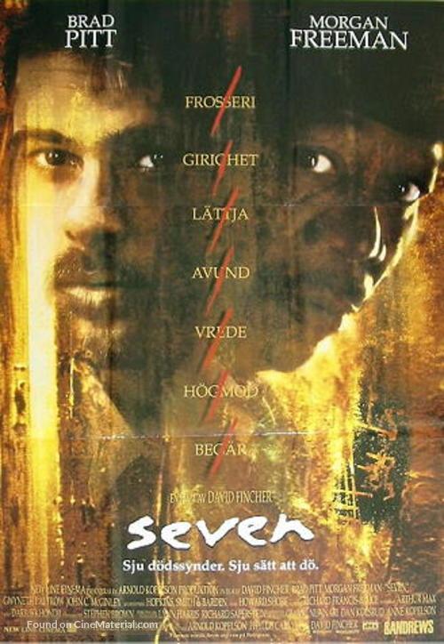 Se7en - Swedish Movie Poster