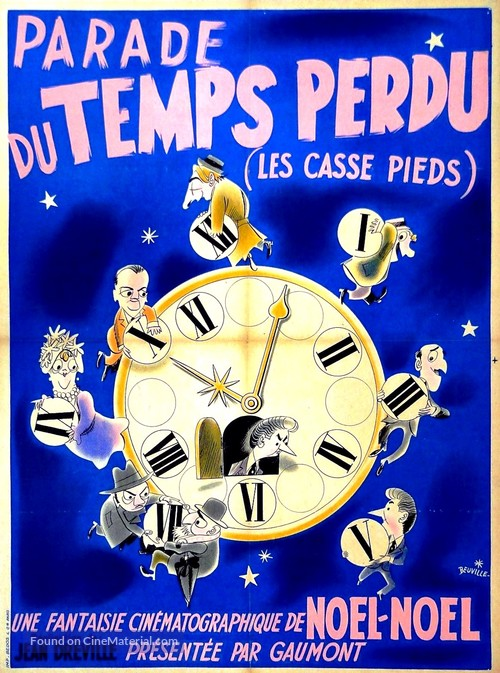 Les casse-pieds - French Movie Poster