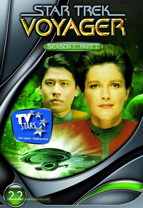 """""""Star Trek: Voyager"""" - German Movie Cover"""
