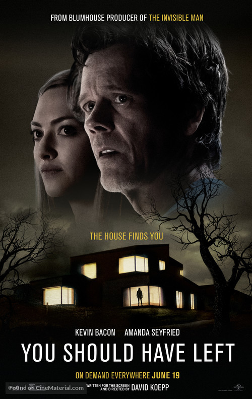 You Should Have Left - Movie Poster