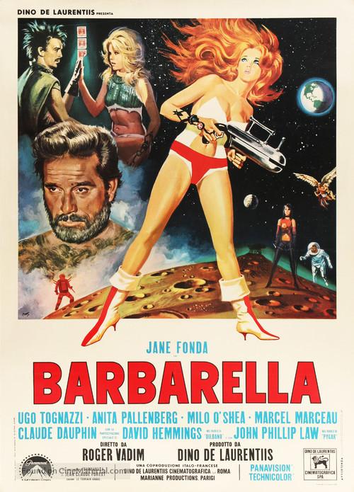 Barbarella - Italian Movie Poster