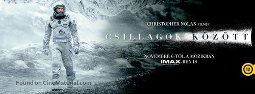 Interstellar - Hungarian Movie Cover