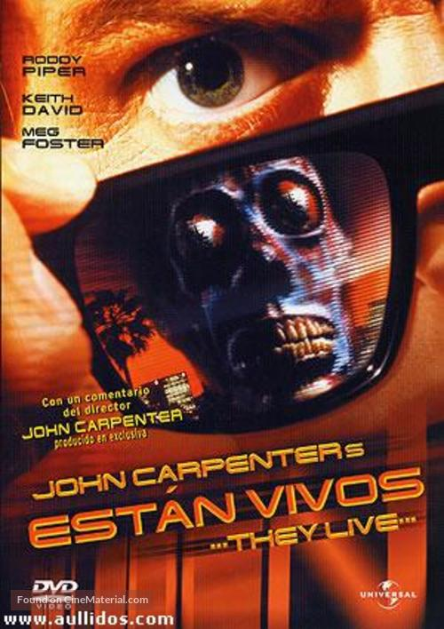 They Live - Argentinian Movie Cover
